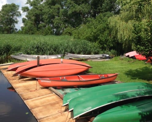 Coleman canoes